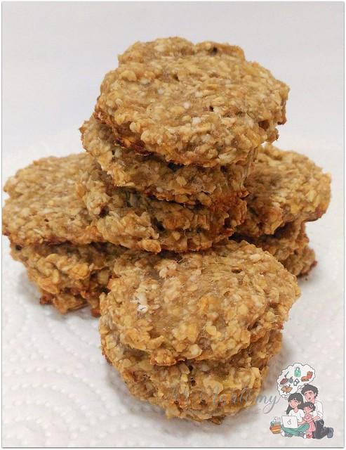 banana oatmeal cookies for kids (3)