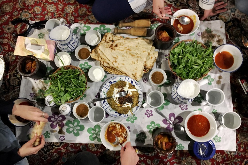 Persian meal called dizi