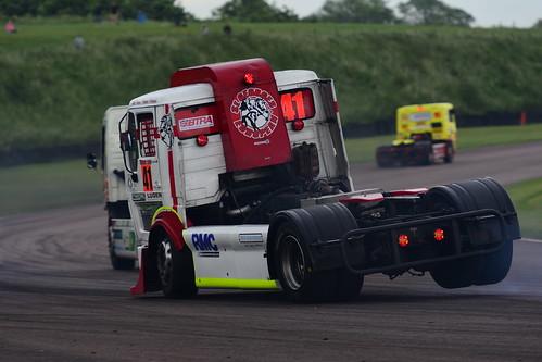 Simon Cole, Mercedes 1625 11000, British Truck Racing Championship, Thruxton 2017