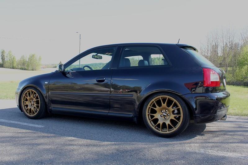 Japrnoo: Datsun 510 & EX Audi S3 34455711190_fb1891800c_c