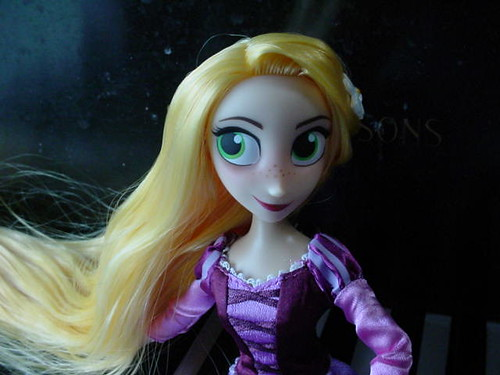 Rapunzel close up