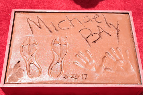 Michael Bay Hand and Footprint Ceremony | by Michael Bay Dot Com