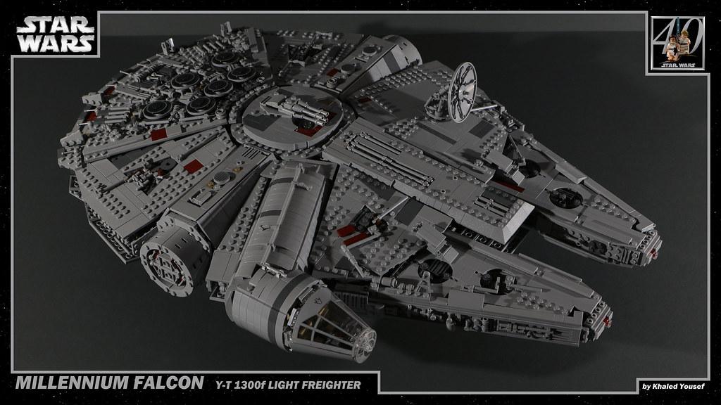 lego millennium falcon instructions