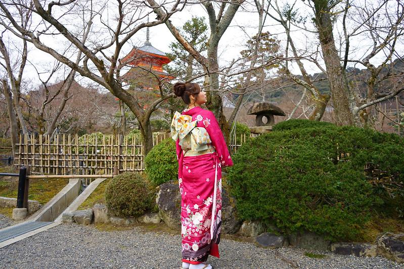 [日本]清水寺和服