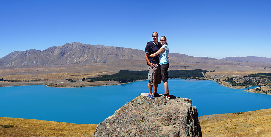 Auswandern nach Neuseeland: Andi und Katharina