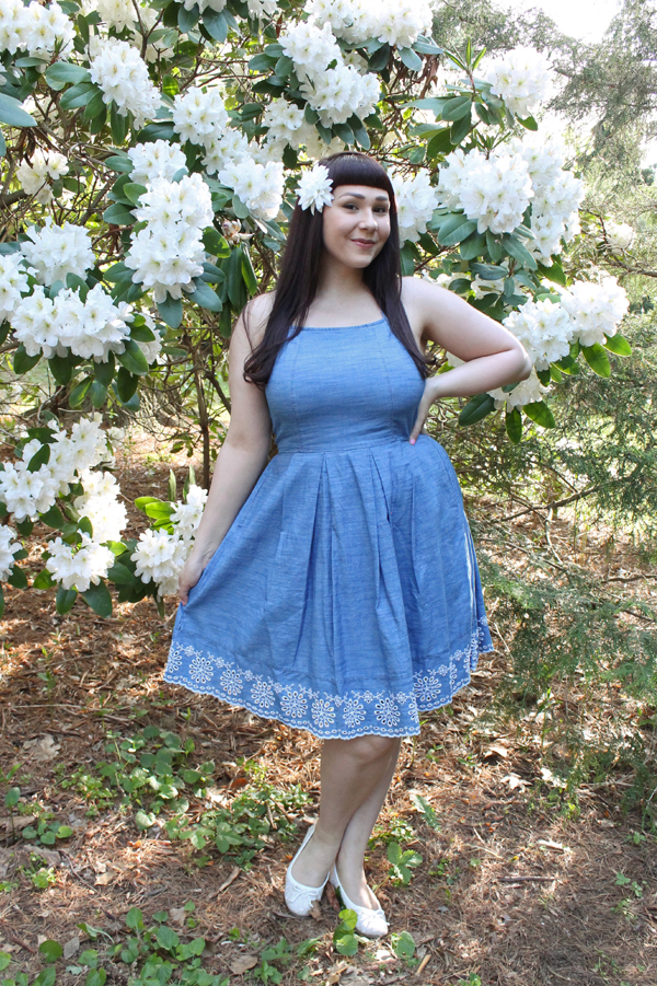 kohl's denim dress