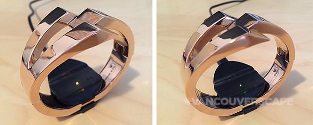 WiseWear Calder Bracelet charging