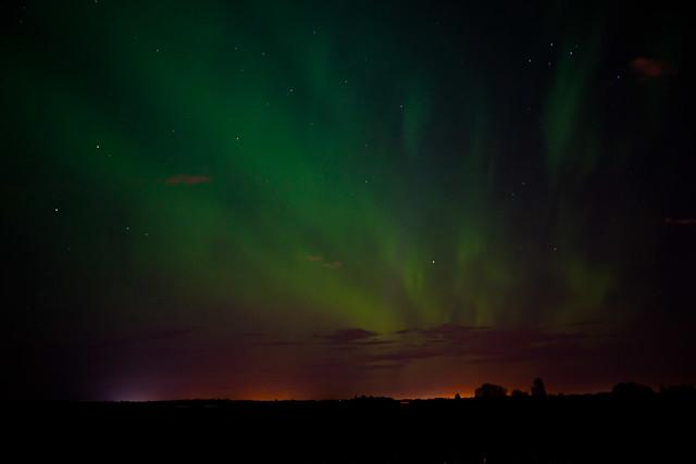 Edmonton Aurora Borealis