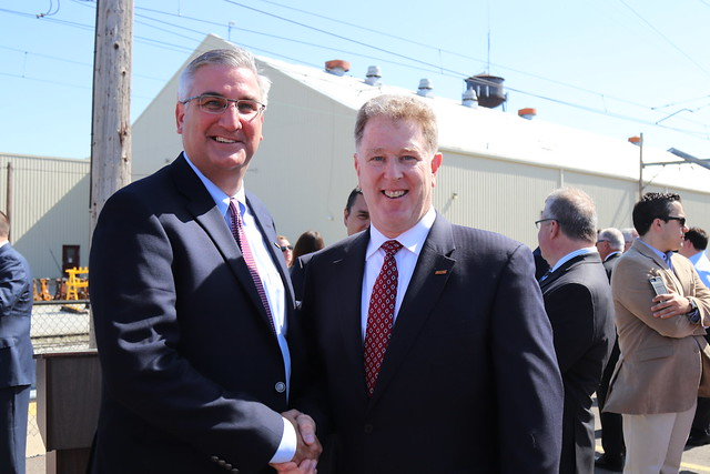 Governor Holcomb Signs HEA 1144 for SSLDouble Track