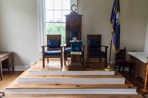 Masonic meeting area - 3