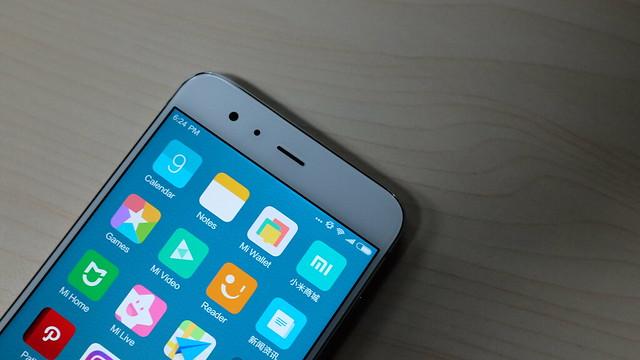 Kamera depan Xiaomi Mi 6