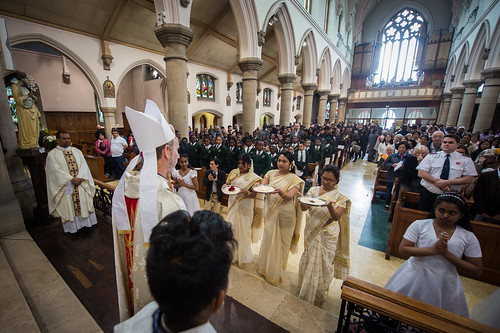 Migrants Mass for Westminster, Brentwood and Southwark Dioceses in the St Antony's, Forest Gate.