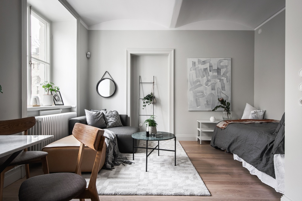 A Very Small But Lovely Swedish Home