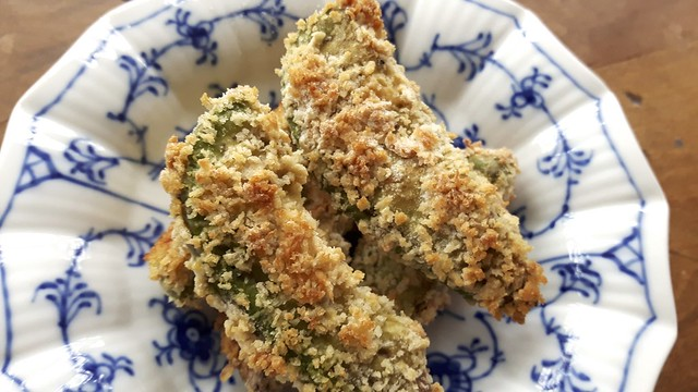 Baked Avocado Fries 9