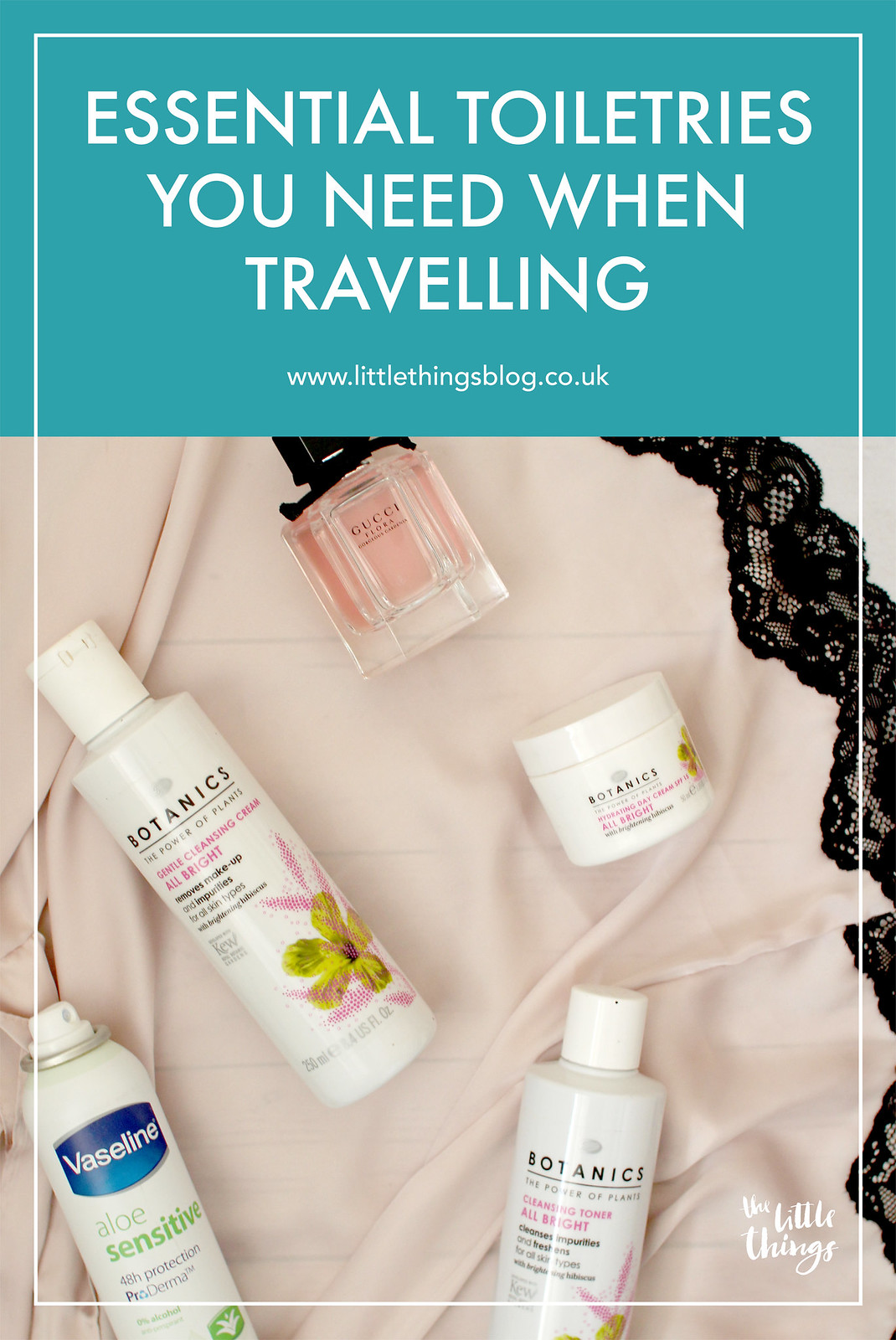 Essential toiletries you need when travelling travel blogger UK