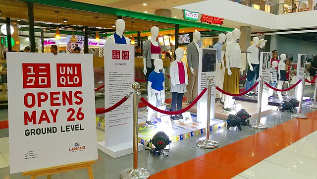 uniqlo philippines opens 1st store in mindanao in sm lanang premier davao life uniqlo philippines opens 1st store in