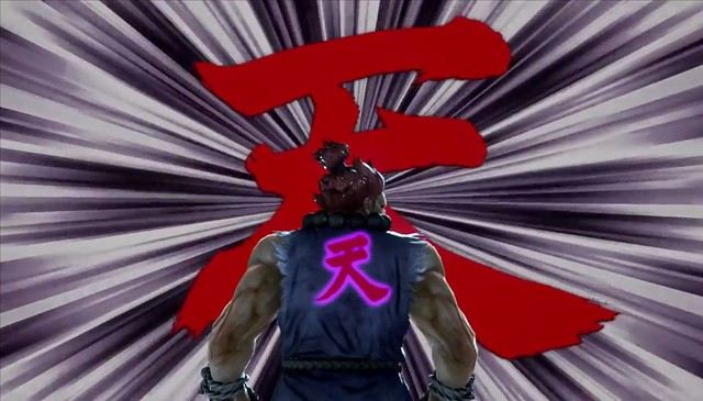 Tekken 7 - Akuma는 Heihachi를 패배시킵니다