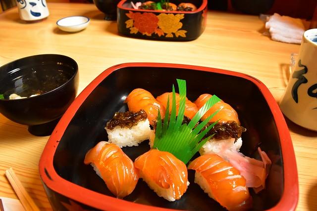 八丈島・あそこ寿司の島寿司