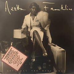 ARETHA FRANKLY:LOVE ALL THE HURT AWAY(JACKET A)