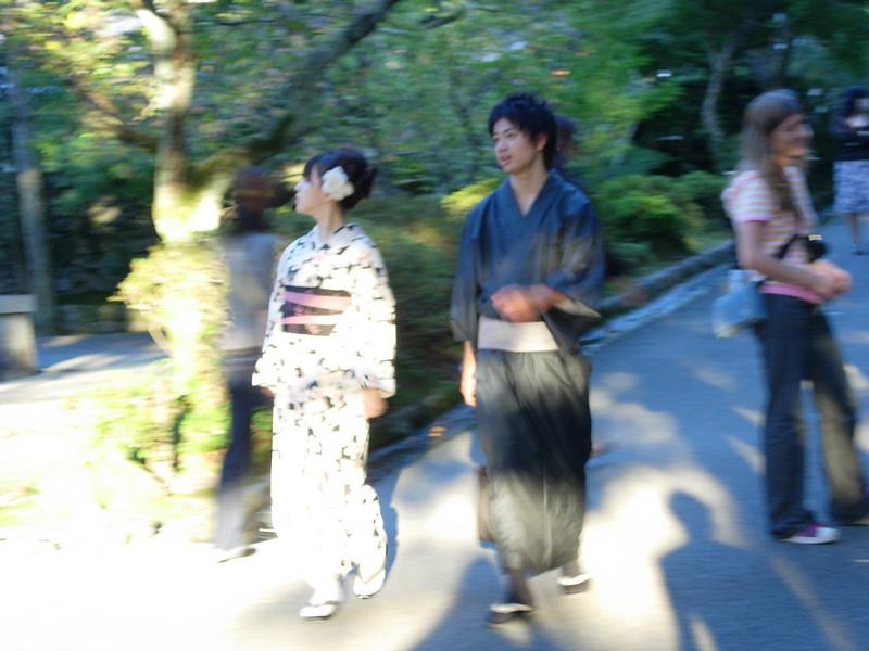 Japoneses Kimono