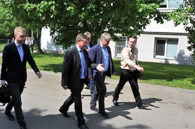 Aplinkos ministro vizitas LEI