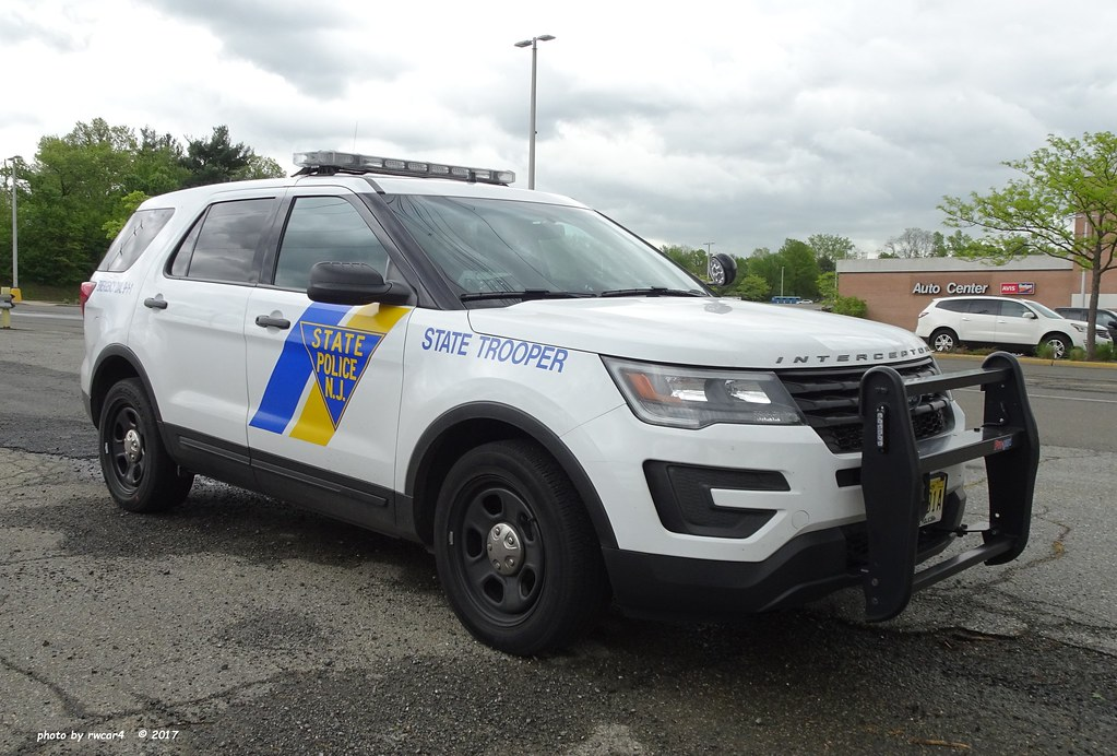 New Jersey State Police Ford Police Interceptor Utility