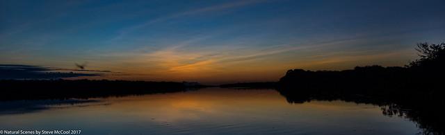 Dawn on the Rio Unini-1