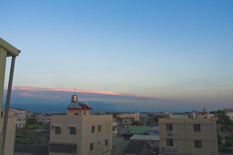 梅雨到來的前夕 天空格外美麗