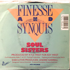 FINESSE AND SYNQUIS:SOUL SISTERS(JACKET B)