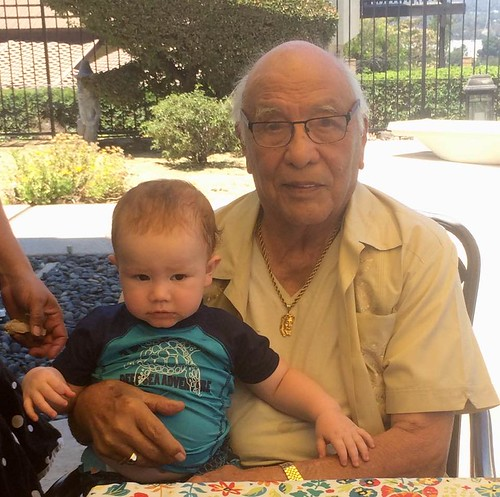 Jack and his great great grandfather Ralph Flores