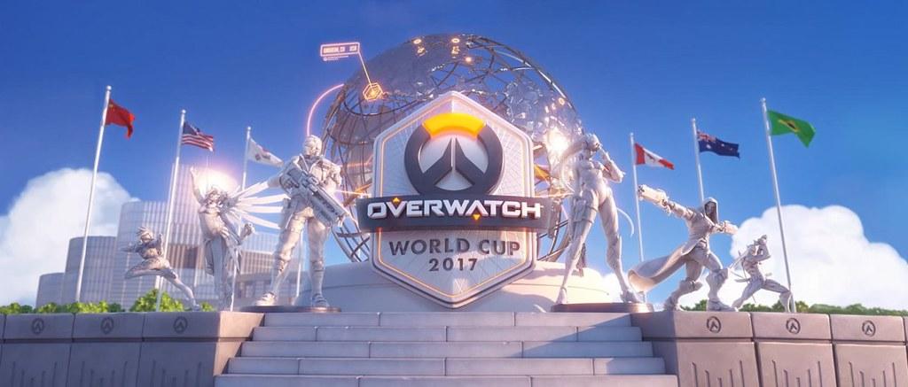 《鬥陣特攻》世界盃32支隊伍將分別前往全球四個城市所舉辦的四場「現場小組賽」為國家爭取榮耀與晉級至BlizzCon的八席資格。(Blizzard Entertainment提供)