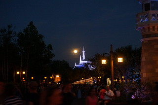 Moonrise over Space Mountain | by Disney, Indiana