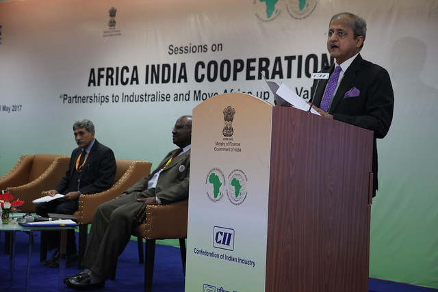 Africa-India Cooperation – Session 8: Connect Africa: Partnerships in e-Governance, AM 2017