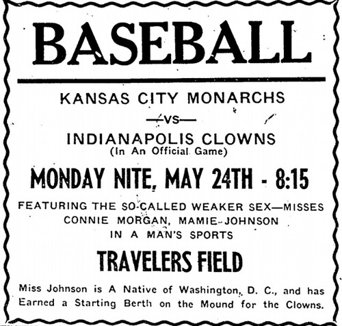 Ad in Arkansas State Press, May 21st, 1954.