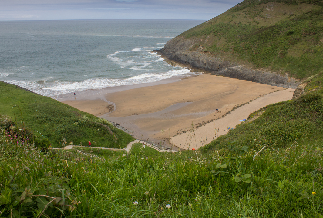 Mwnt beach, cardigan