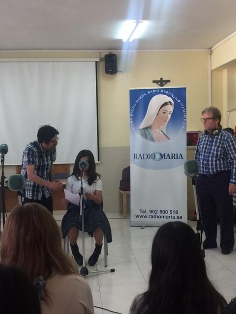 Oramos junto a Radio María
