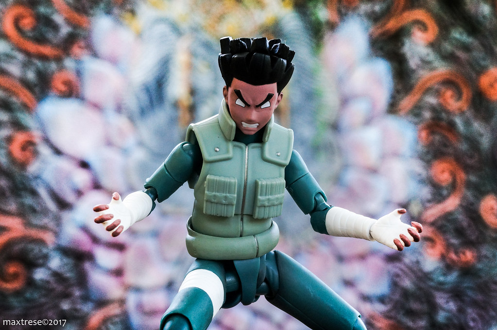 SHF Rock Lee opens the Eight Gates
