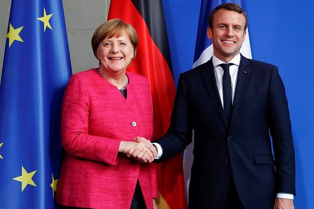 Merkel-Macron