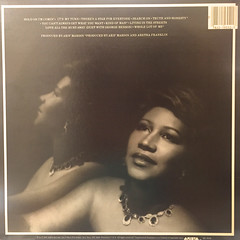 ARETHA FRANKLY:LOVE ALL THE HURT AWAY(JACKET B)