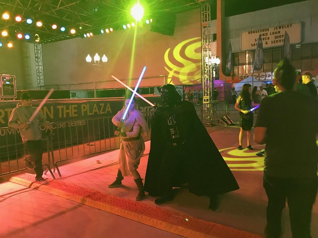 Vader Rey Duel