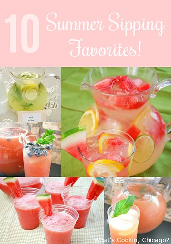 Round Up: Summer Sipping!