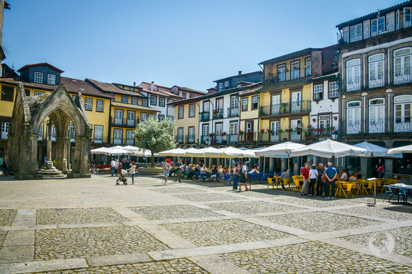 Main Square Guimarães Portugal