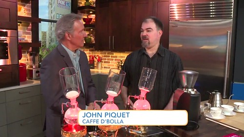 John and d'bolla siphon coffee on FOX13