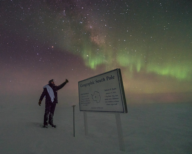 Happy International Towel Day from South Pole!