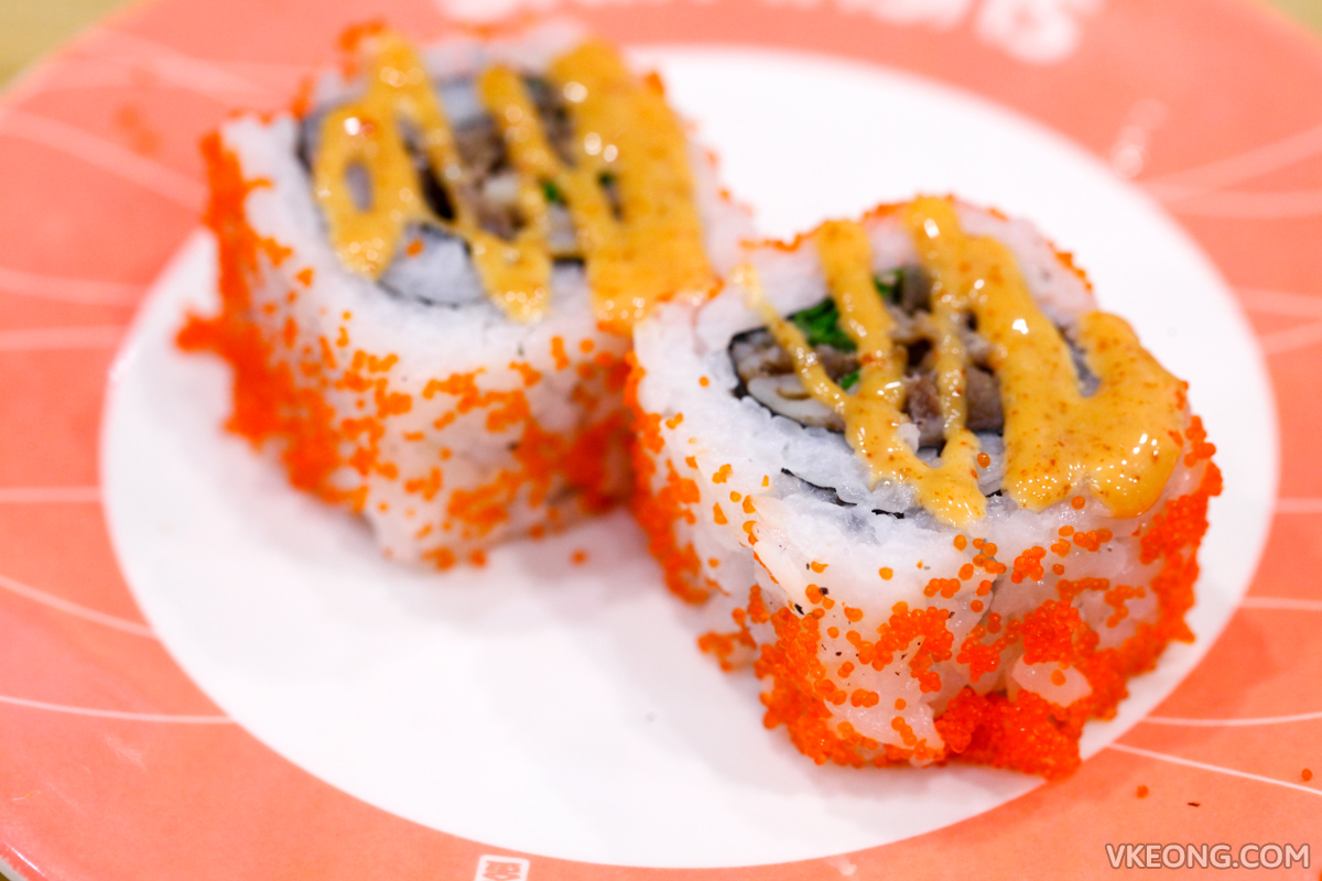 Sushi King Buffet Spicy Gyu Maki