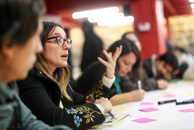 Encuentro de co-diseño del Laboratorio de Innovación Social de Fundación Colunga