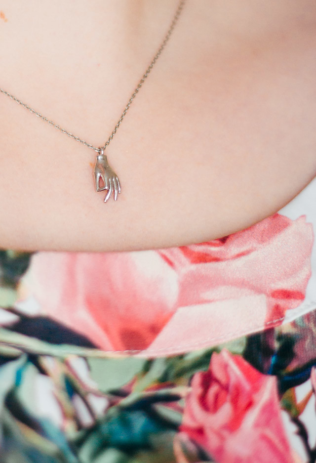 necklace from stranger london | what i wore