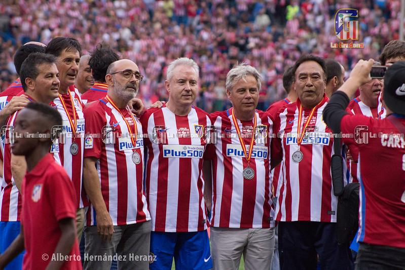 Final de Leyendas para el Vicente Calderón