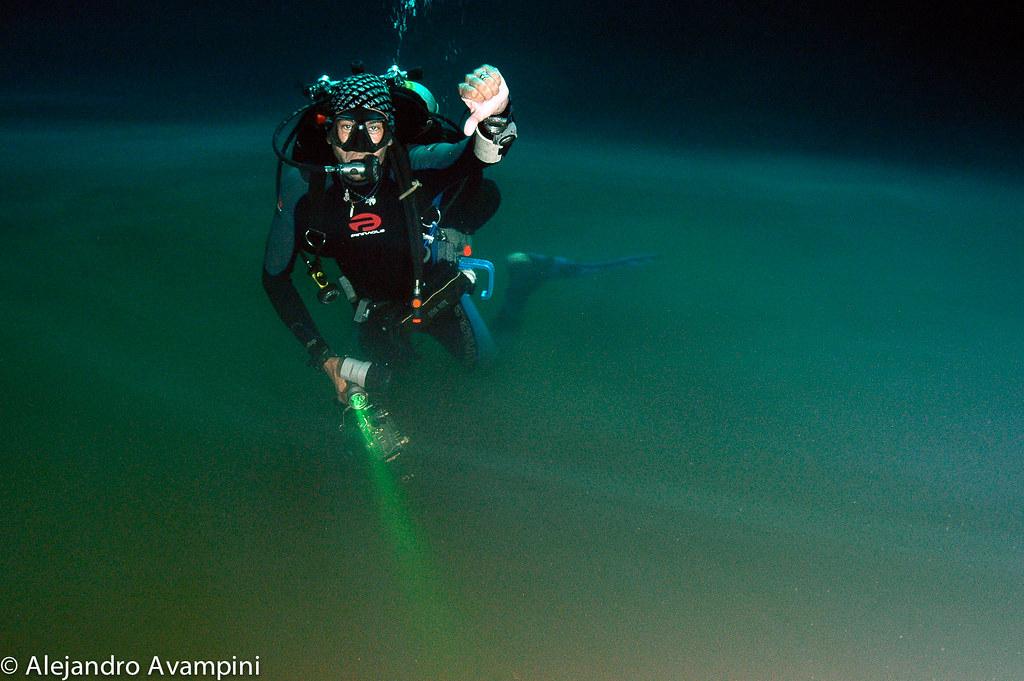 Cenote Angelita encuentro del agua dulce con la salada