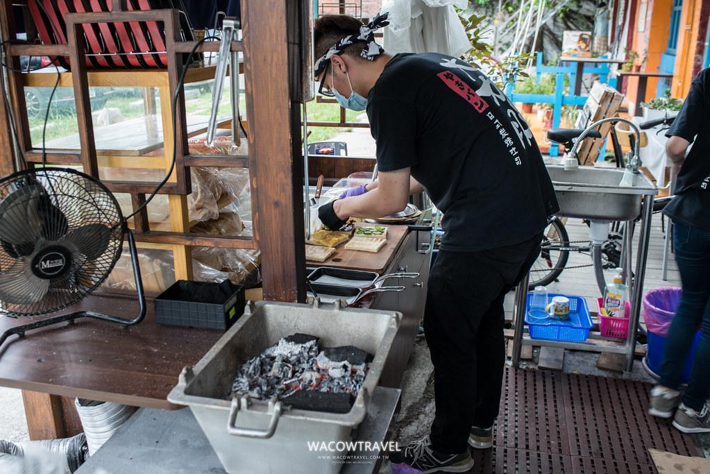 台東美食-夯胖碳烤土司